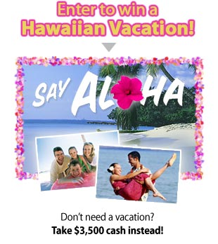 Aloha-sweepstakes