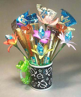 Hawaiian-candy-bouquet