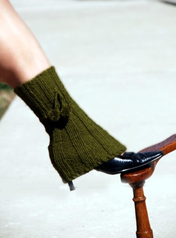 Green-leg-warmer