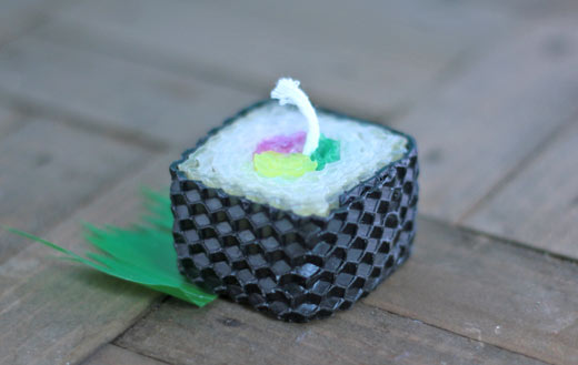 Tuna-melt-sushi-candle
