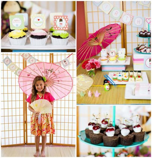 Kokeshi-doll-party-theme