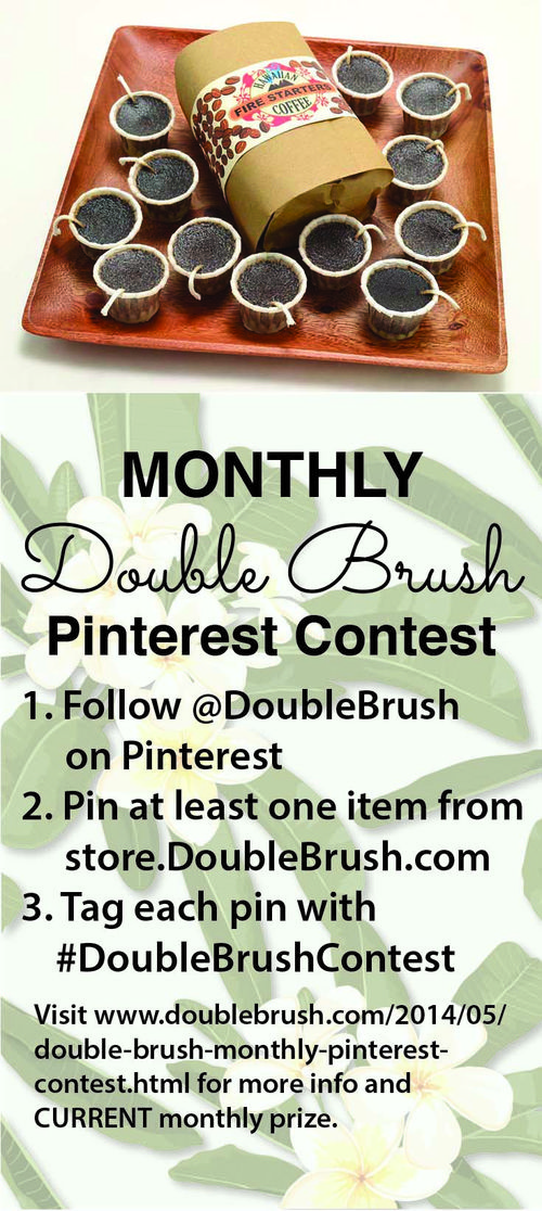 Pinterest contest June 2014-coffee firestarters