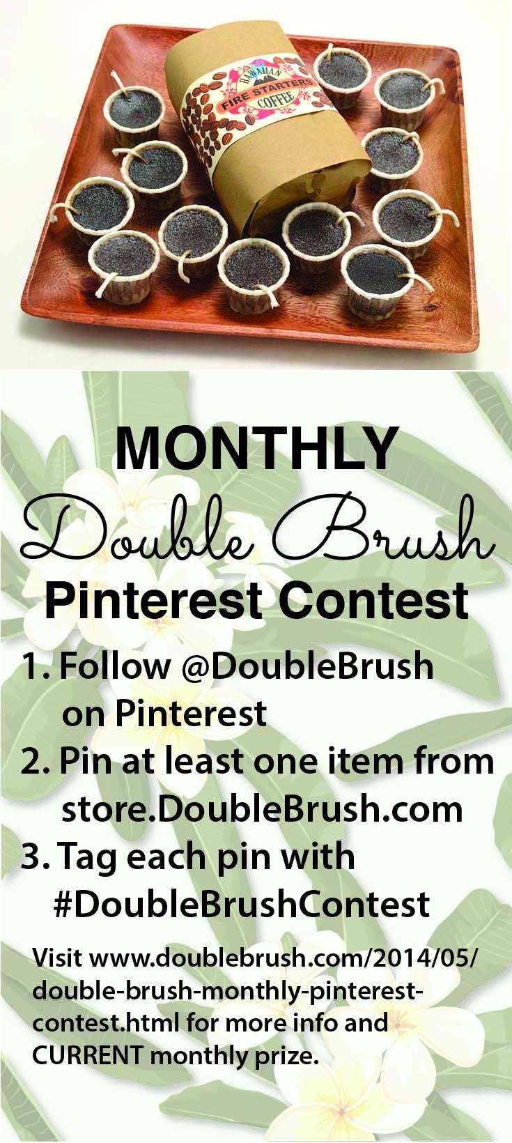 Pinterest contest June 2014-coffee firestarters