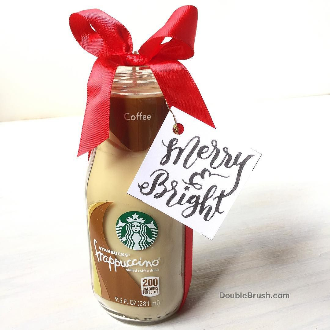 need a starbucks coffee themed christmas gift our yummy coffee scented clean burning soy wax candle