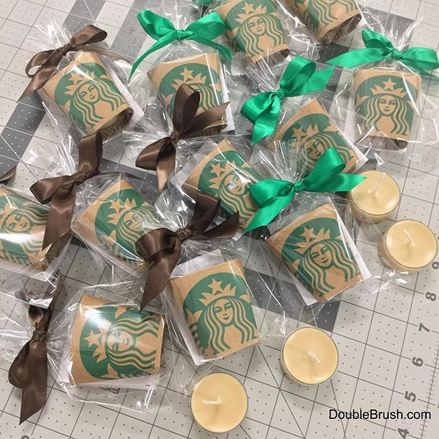 Need coffee party favors for Starbucks themed parties? We